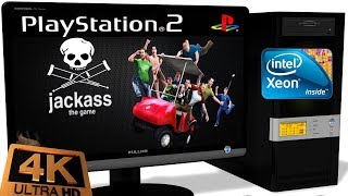 PCSX2 1.5.0 PS2 Emulator - Jackass: The Game (4K Ingame) OpenGL. Request #1