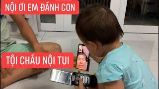 Con gái rượu Khương Dừa gọi điện cho bà nội khóc lóc kể đủ thứ chuyện trên đời!