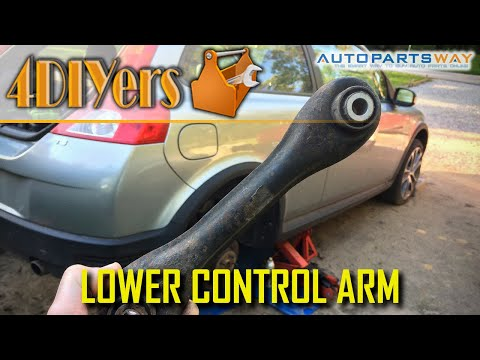 How to Replace the Rear Lower Control Arms on a Volvo C30 S40 V50 C70