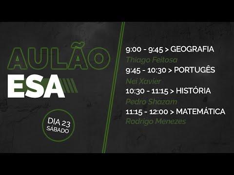 FOCO ESA - Matemática - Rodrigo Menezes