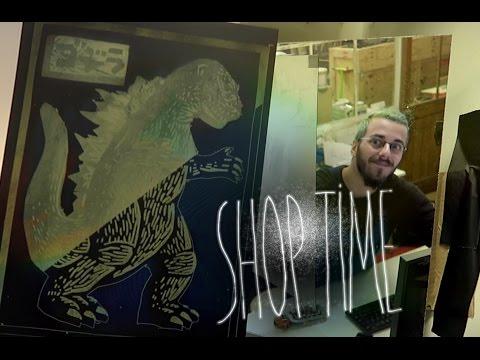 Godzilla le poster collector DIY ! : Shop time # 12