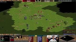 AoE Highlights | Trận đấu siêu giàu kinh điển của team Sparta