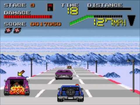 Los Juegos De Sega Genesis Que Jugue Ep 1 Chase Hq 2 Youtube