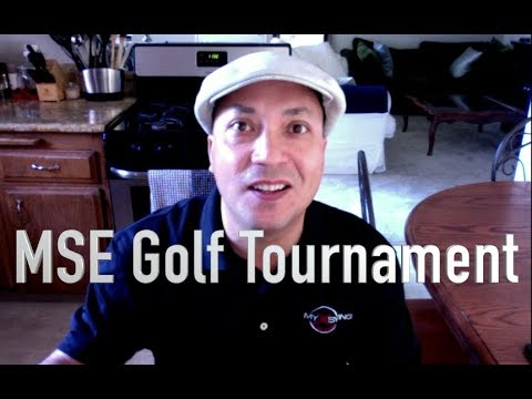 MSE GOLF TOURNAMENT!