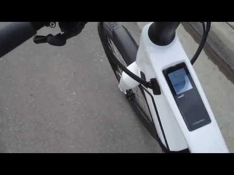 Stromer ST2 E-bike---A Short Test Ride