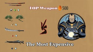 Shadow Fight 2 || TOP WEAPON 500 Gems vs TITAN 「iOS/Android Gameplay」 screenshot 5