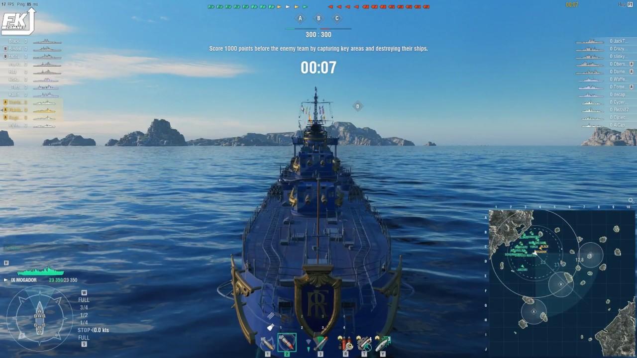 World of Warships - Mogador division is OP AF