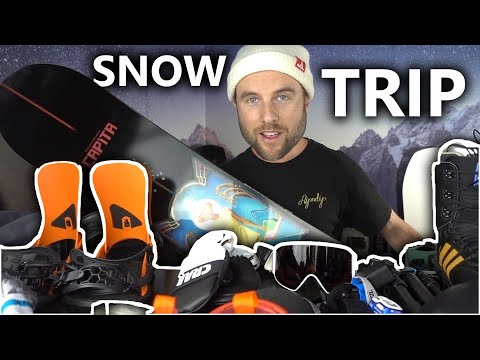 Everything I Take On A Snowboard Trip