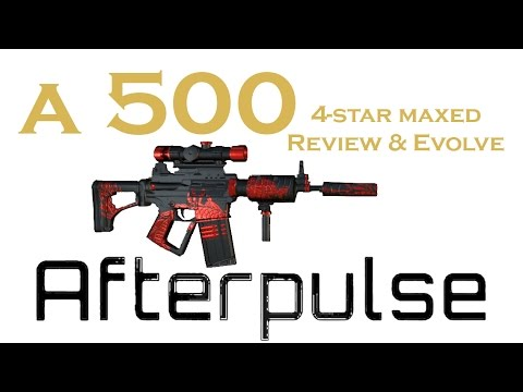 A 500 Cinnabar review! | Afterpulse | 4-star MAXED
