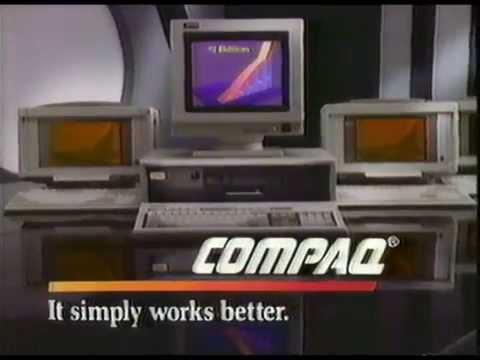 1988 Compaq Computer Commercial