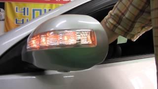 아반떼HD LED사이드미러 3기능, 리피터 동영상, 자…