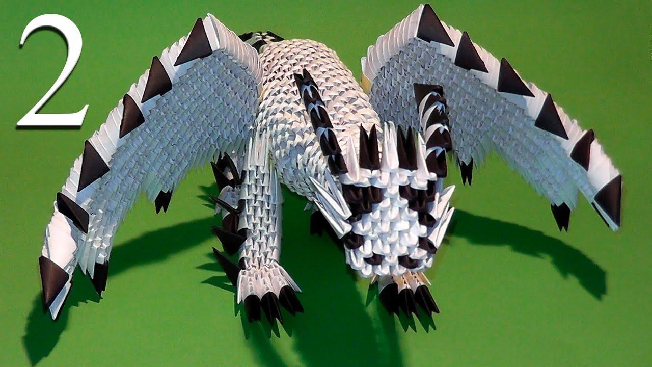 3D origami penguin tutorial - YouTube   720x1280