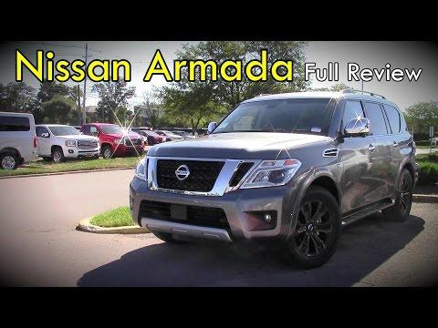 2017 Nissan Armada: Full Review | SV, SL & Platinum
