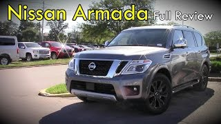 2017 Nissan Armada: Full Review | SV, SL & Platinum