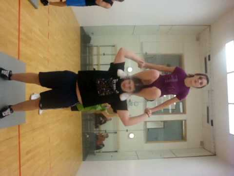 shelby and luke shoulder sitshoulder stand/muscle pose