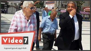 وزير الرياضة لمرتضى منصور عقب افتتاح منشآت النادى: