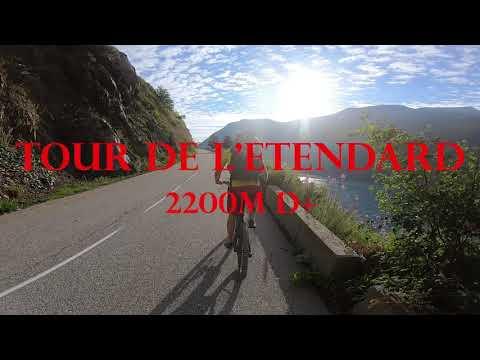 Tour de l'Etendard - 2200m D+ et difficultés physiques