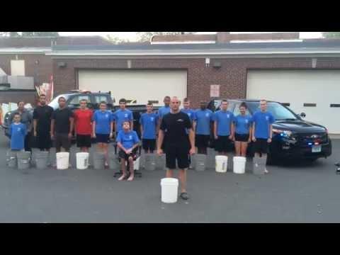 Stratford Police Explorers - Ice Bucket Challenge