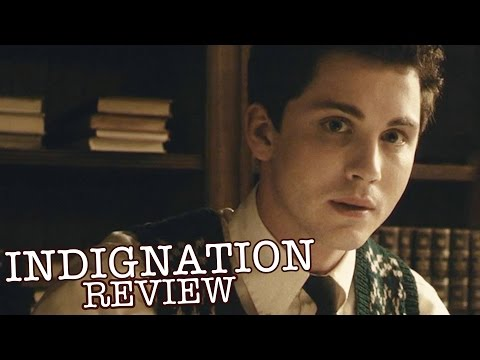 Sarah Gadon, Logan Lerman, in Philip Roth's 'Indignation' - Film Review