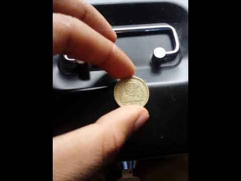 VERY RARE Gibraltar Referendum 1 Pound coin