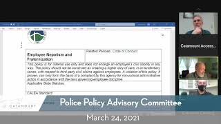 Policy Advisory Committee 03 24 21 YT