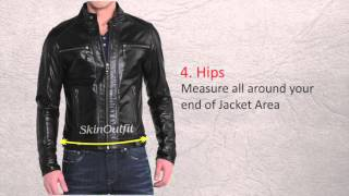 SkinOutfit Leather Jacket Size Guide