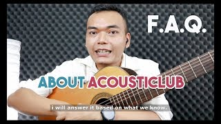 About AcoustiClub | Frequently Asked Questions