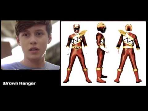 Power Rangers Dino Charge Full Team Fan Art