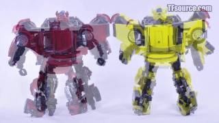 012 A-03 TakaraTomy Alternity Bumble and Cliff - TF Source Video Review 012