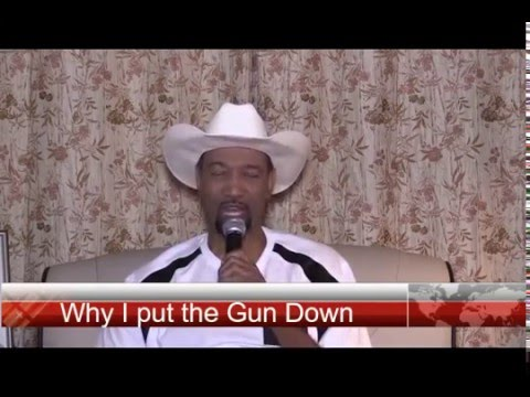 Testimony and Song to Why I put the Gun Down PART 1 - Gerry Thompson