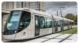 Straßenbahn Le Havre • Alstom Citadis 302 • Tramway du Havre • trams in Frankreich