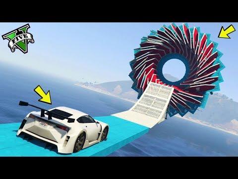 GTA 5 ONLINE 🐷 TRIAL MISTERIOSO !!! 🐷 GARE PARKOUR 🐷N*289🐷 GTA 5 ITA 🐷 DAJE !!!