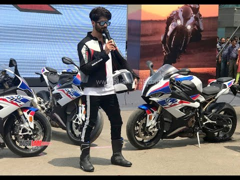 2019 Bmw S 1000 Rr Price Rs 18 5 Lakh Shahid Kapoor Attends Launch