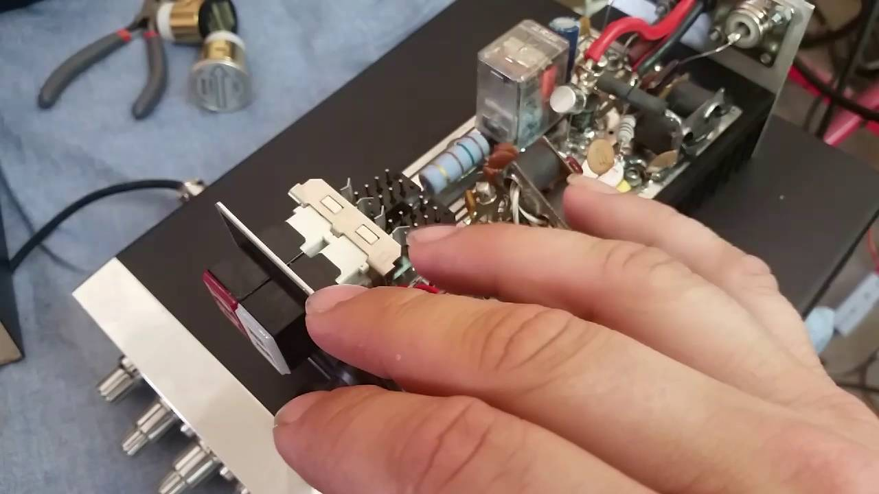 Texas Star Mod-V Repair & Cobra 148 Dead Key Variable Mod by 1883GotDown