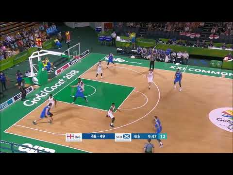 Fraser Malcolm - 6' 6'' Wing - 2018 Commonwealth Games Basketball