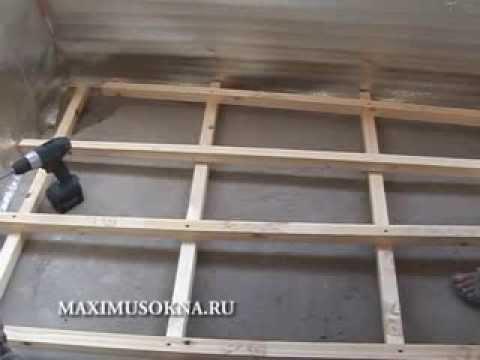 Максимус Окна - объединение лоджии с комнатой