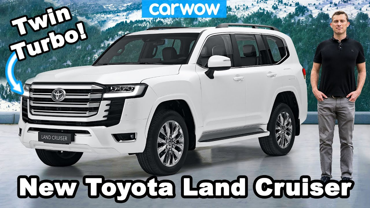 New Toyota Land Cruiser - see why it's even tougher than ever before!