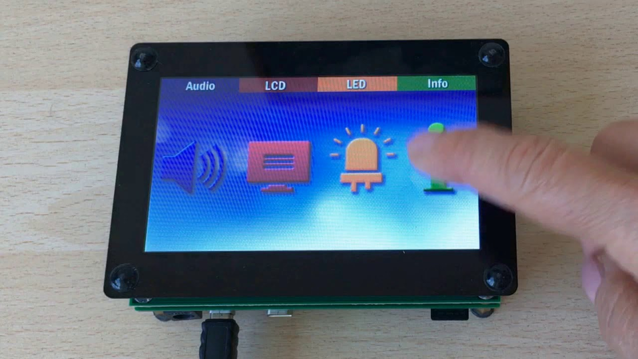 STM32F7 Linux Crank Storyboard GUI demo by EmcraftSystems