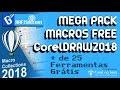 MEGA PACK MACROS FREE CorelDRAW 2018 By GrafiSin mp3