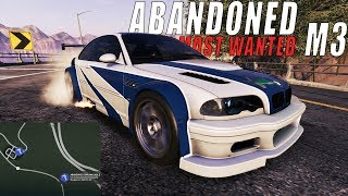 NEW ABANDONED CAR THE ICONIC NFS MOST WANTED M3 | Need For Speed Payback
