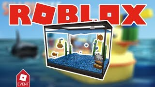 Event How to get the Aquarium Hat | SharkBite-Roblox