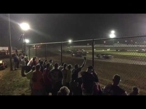 Brownstown Speedway pure stock feature 7-2-16