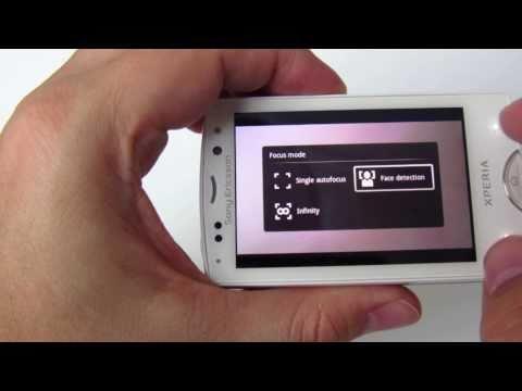 Sony Ericsson Xperia mini pro - hands on