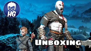Unboxing: Kratos & Atreus God of War Ultimate Action Figure Pack/ Neca