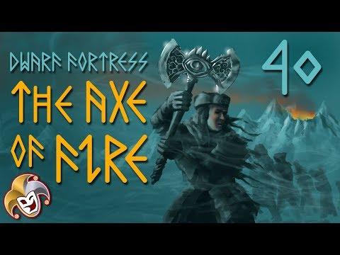 Dwarf Fortress ~ The Axe of Fire Saga ~ 40 Stripping Goblinite