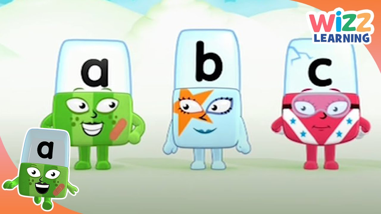 Phonics - Learn Your A, B, Cs | Alphablocks | Learn to Read | Wizz Learning