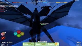ROBLOX Dinosaurier Simulator - RIESIGE WAR!!! *Got klatschte*