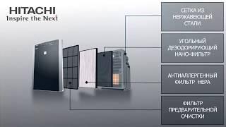 Обзор очистителей увлажнителей воздуха Hitachi серии EP-A