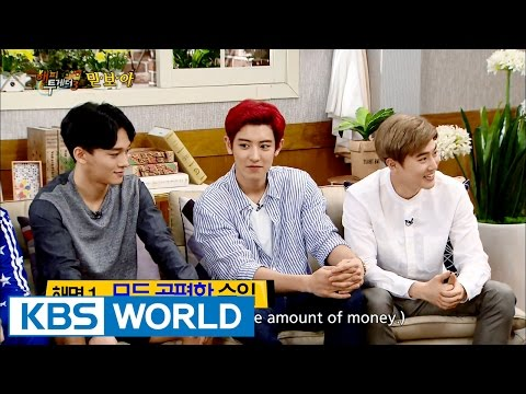 """Chanyeol's Nickname is """"3 Minutes and 1 Second""""  [Happy Together/2016.07.14]"""