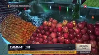 Роскошный прием устроили Путину в Таджикистане